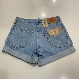 *NEW* Levi's 501 Original Shorts Mid-Rise